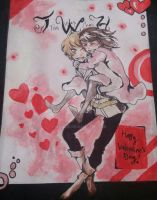 Valentines Painting by Inohari