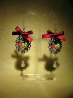 Fruit Cake Earring Dangle 02 by fleur-de-mirage