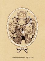 2013-7-30 Hatter by amoykid