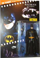 batman cernit figure carded by reptilest