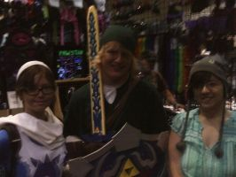 Me Link and Sheik by chibivampire1997