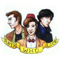 100 Followers - SuperWhoLock by JoeyHazelLM