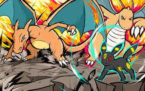 Charizard | Dragonite | Umbreon by ishmam