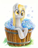 Bath time by Maytee