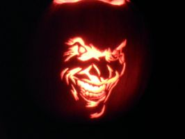 Joker Carving by Juggernaut448