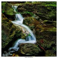 Small Waterfall by Marcello-Paoli