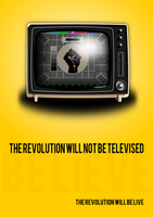 The Revolution Will Not Be Televised by AmynitaMuscaria