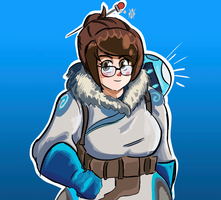 Mei from Overwatch by BlueLine-Ultra