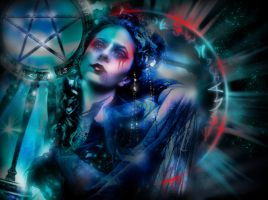 THE  ARCANE GODDESS by L-A-Addams-Art