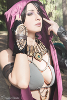 Morrigan - Dragon Age - Cosplay by NunziaPassaroPhoto
