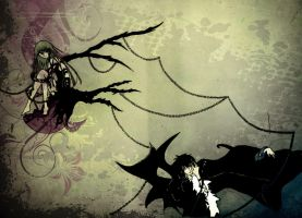 Lelouch and C.C- Demon Emperor and Immortal Witch by scarecrow0604