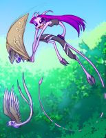 Captured In Flight by Dreamkeepers