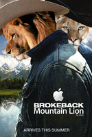 Brokeback Mountain Lion by xazac87