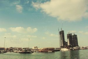 Abu Dhabi from Corniche 1 by amirajuli