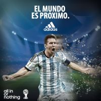 Messi Poster by JayRitch