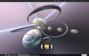 My Current Ubuntu Desktop by rvc-2011
