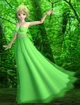 Gumi (Green Dress) DL by Kohaku-Ume