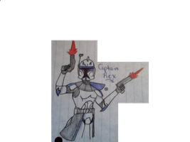 Captain Rex by Blazestar12