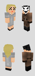 Minecraft Skins: Cursor and Swain from TribeTwelve by zguy1996