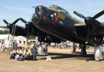 bbmf lancaster and crew by Sceptre63