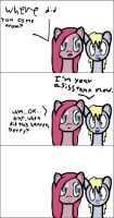 Ask Pinkamena things: A New Assistant... by darksoma905