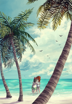 Alola Beach by Krisantyne
