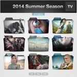 2014 Summer Season TV Series Folders by limav