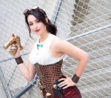 Steampunk Melody The Little Mermaid by IsabellaCUDA