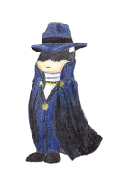Chibi Phantom Stranger by Ghostbusterlover