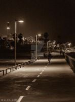 The Road to Tel Baruch by Eliweisz