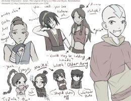 Avatar Sketch Yard by sazzykins
