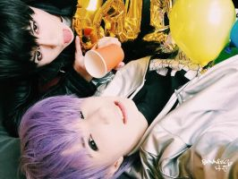 2PM - Go Crazy - Chansung and Junho cosplay II by HJcosplay