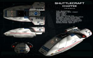 Chaffee shuttlecraft ortho by unusualsuspex