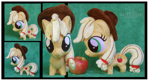 Chibi Applejack Custom Plush by Nazegoreng