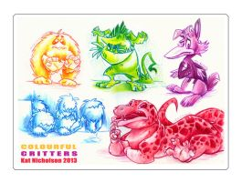 Colourful Critters by Kat-Nicholson