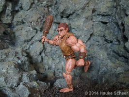3D printed caveman - new print by hauke3000