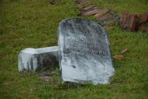 Taylor Jackson Cemetery 08 by LinzStock