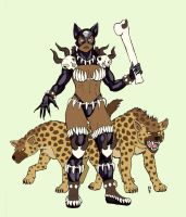 Hyena Queen by SkyJaguar