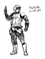 Scout Trooper is best trooper by Hazzard65