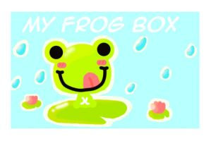 MY FROG BOX lid pic by happy-bamboo