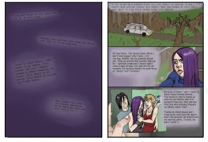 page 1 and 2 of The other World Comic. by seannethecloud