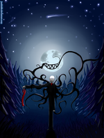 Slenderman by JunkieKB