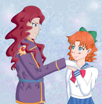 Nephrite and Naru by Psychedelic-Assassin