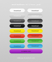 Web Buttons Nr. 2 Free PSD by WillyEpp