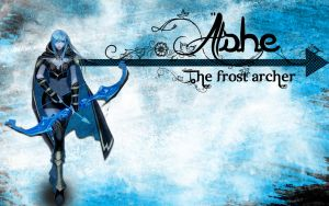 League Of Legends - Ashe The Frost Archer. by SirGanarok
