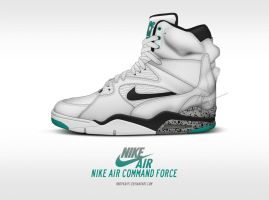 Nike Air Command Force 'Emerald' by BBoyKai91