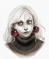 Luna Lovegood by LiaBatman