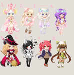 cute adopts! CLOSED by Leafy089