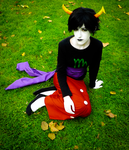 Sitting Kanaya ( Cosplay ) by Kenoma