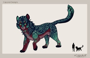 Species design commission by Capukat